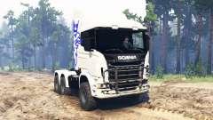 Scania R730 6x6 para Spin Tires