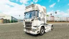 A pele do Exército no tractor Scania para Euro Truck Simulator 2