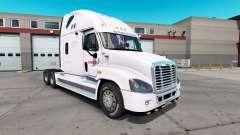 Pele Estafeta para o trator Freightliner Cascadia para American Truck Simulator
