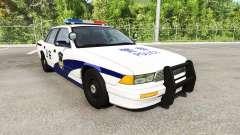 Gavril Grand Marshall Chinese Police para BeamNG Drive