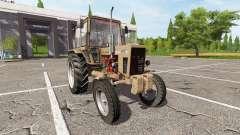 MTZ-80, Bielorrússia v1.1 para Farming Simulator 2017