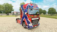 A pele da Nova Rússia no tractor DAF para Euro Truck Simulator 2