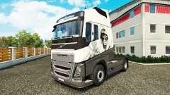 Legal Leão pele para a Volvo caminhões para Euro Truck Simulator 2