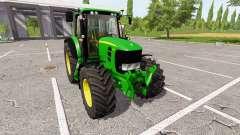 John Deere 7530 Premium v1.1.0.1 para Farming Simulator 2017