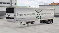 Peles marcas de carros semi-reboques para American Truck Simulator