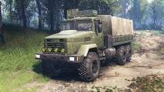 KrAZ-6322 v3.0 para Spin Tires