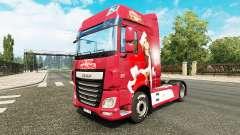 Natal pele para caminhões DAF para Euro Truck Simulator 2