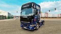 Pele AC-DC-para caminhão Scania para Euro Truck Simulator 2