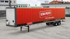 Grampos de pele no metal trailer para American Truck Simulator