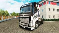 Polícia Sexy pele para a Volvo caminhões para Euro Truck Simulator 2