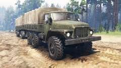 Ural-375Д para Spin Tires