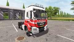 MAN TGS 18.440 A. Helmer B.V. hauler v2.2 para Farming Simulator 2017