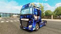 Fantasia de pele para caminhões DAF para Euro Truck Simulator 2