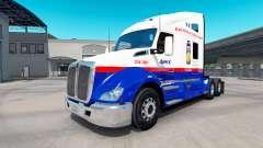 Pele Jumex no trator Kenworth T680 para American Truck Simulator