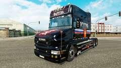 A rússia pele para a Scania T caminhão para Euro Truck Simulator 2