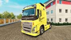 Bundaberg pele para a Volvo caminhões para Euro Truck Simulator 2