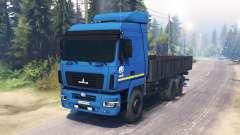 MAZ-6312 para Spin Tires