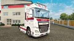 Pele Chr.Lund no tractor DAF para Euro Truck Simulator 2
