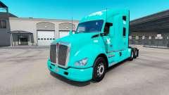 Pele TUM no trator Kenworth T680 para American Truck Simulator
