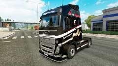Rápido Transporte de pele para a Volvo caminhões para Euro Truck Simulator 2