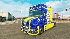 Michelin pele para caminhão Scania T para Euro Truck Simulator 2
