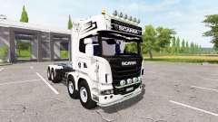 Scania R730 container para Farming Simulator 2017