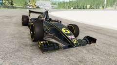 O carro de fórmula 1 v1.1 para BeamNG Drive