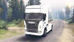 Scania R730 2009 4x4 para Spin Tires