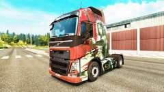A pele da Lâmina para a Volvo caminhões para Euro Truck Simulator 2