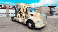Leon pele para o caminhão Peterbilt 579 para American Truck Simulator