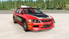 Mitsubishi Lancer Evolution IX 2006 remaster para BeamNG Drive