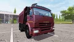 KAMAZ-65115, Euro3 para Farming Simulator 2017