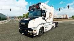 Gagarin pele para caminhão Scania T para Euro Truck Simulator 2
