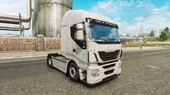 Alumínio escovado pele para Iveco caminhão para Euro Truck Simulator 2