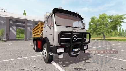 Mercedes-Benz NG 1632 tipper para Farming Simulator 2017