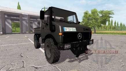 Mercedes-Benz Unimog U1600 v1.15 para Farming Simulator 2017