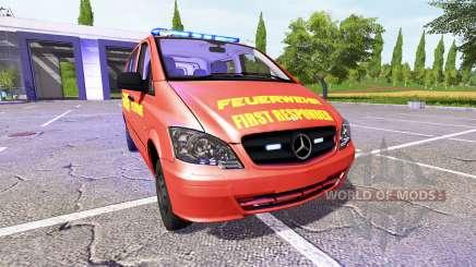 Mercedes-Benz Viano FR para Farming Simulator 2017