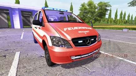 Mercedes-Benz Viano NEF v2 para Farming Simulator 2017