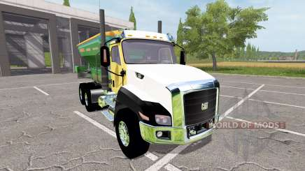 Caterpillar CT660 spreader para Farming Simulator 2017