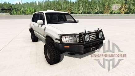 Toyota Land Cruiser 100 v0.5.2 para BeamNG Drive