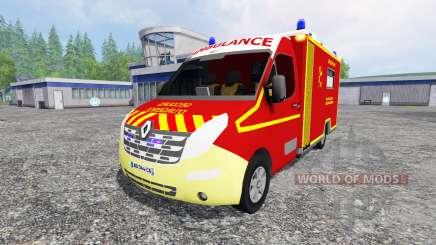 Renault Master Ambulance para Farming Simulator 2015