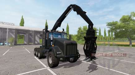Kenworth T800 self loader para Farming Simulator 2017