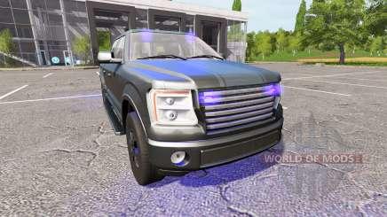 Lizard Pickup TT Unmarked Police para Farming Simulator 2017