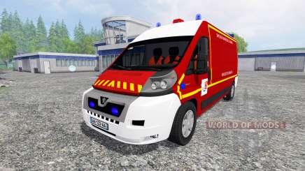 Peugeot Boxer VPL para Farming Simulator 2015