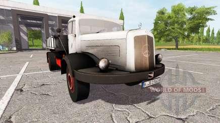 Mercedes-Benz 334K para Farming Simulator 2017