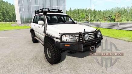 Toyota Land Cruiser 100 v0.5.3 para BeamNG Drive