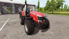 Massey Ferguson 8727 v2.0 para Farming Simulator 2017