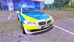 BMW 520d Touring (F11) Police para Farming Simulator 2017