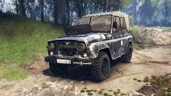 UAZ-469 v3.0 para Spin Tires