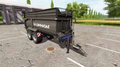 Krampe Bandit 750 black para Farming Simulator 2017